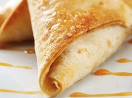 Apple Parcels with Toffee Dipping Sauce