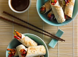 Oriental Vegetable Wraps