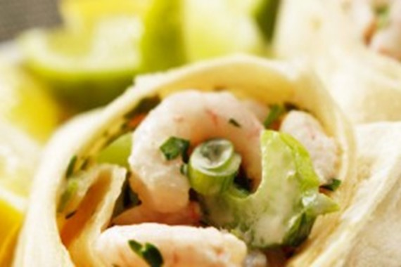 Prawn Cocktail Wraps