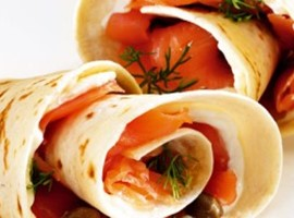 Smoked Salmon Snacks with Capers